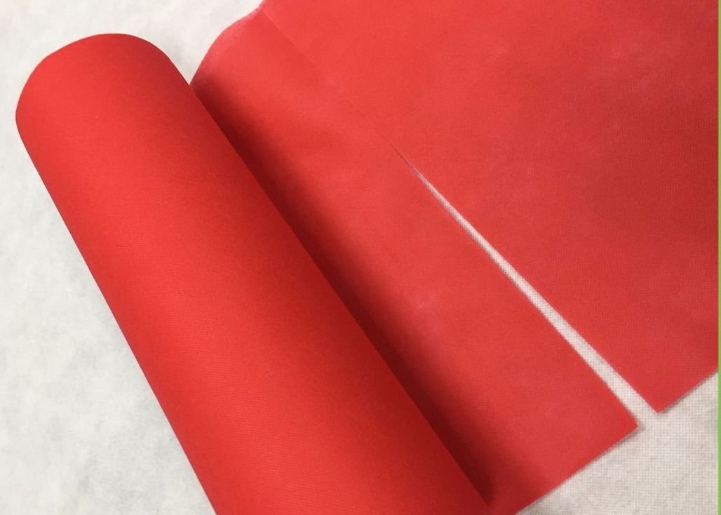 100% Polypropylene Perforated Non Woven Fabric Roll Multi Colors Available