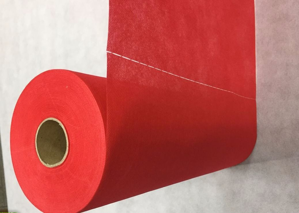 Pre Cut / Perforated TNT Non Woven Fabric Table Cover Cloth Roll 100% Virgin PP